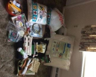 Quilting , sewing and craft supplies