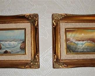 SEASCAPE FRAMED ART