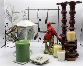 Home Décor & Candle lot
