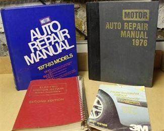 (4) Auto Repair Manuals - Vintage