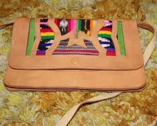Colorful handbags, Sequin Clutch, Green Wallet/Purse, 2 belts and a pair of brown flip flops