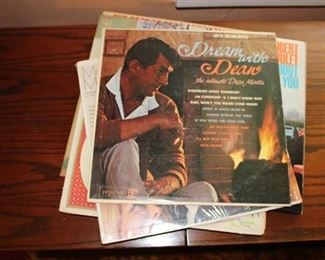 Lot of Record Albums from the 50's and 60's - Including Patti Page and Robert Goulet plus more