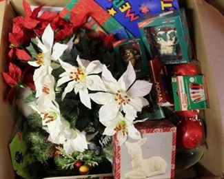 "Get ready for Christmas Early with this large Christmas Gift Bag/Wrap lot plus 34"" Christmas Tree"