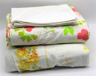 (2) Sets of Vintage Full/Double Sheets