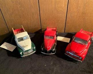 3 frankin mint precisiion models