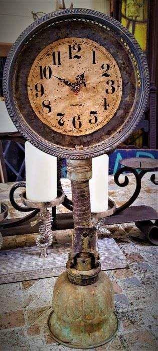 Clock Oil Can  debbie