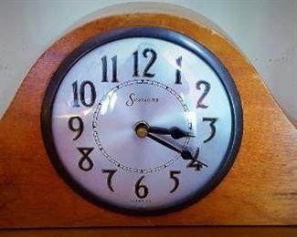 Clock wood debbie