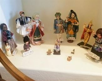 Dolls of the World: Scotland, Navajo, Greece, India, Thailand and Sweden