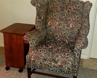 Beautiful Sturdy accent Wingback Chair