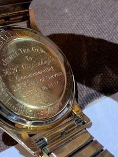 1957 Bulova Men's 14kt gold watch