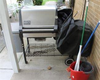 Weber propane bbq grill