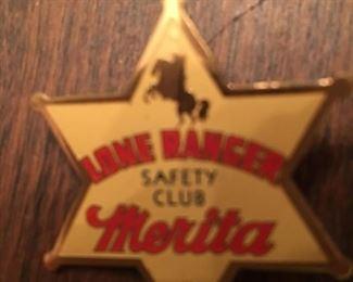Merritt Lone Ranger badge