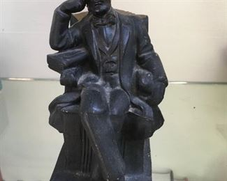 Lincoln  bookend (only 1