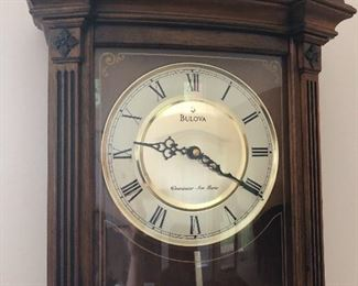 Bulova wall clock with Westminster chime