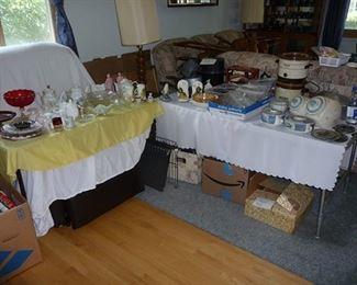 Glassware & Kitchen Items