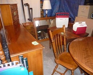 Table & Chairs & Dressers