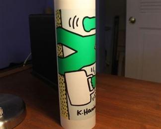 Vintage Playboy Keith Haring poster
