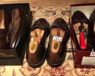 Allen Edmonds and Ferragamo Men's shoes