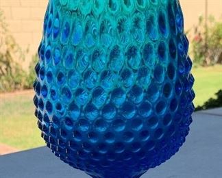 19in Fenton Hobnail Stretch Vase