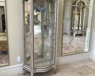 - Glass Armoire 3ft x 6ft