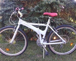 "Rare 26"" full size folding Pininfarina Italian bicycle."