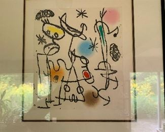 Joan Miro print, Paroles Peintes, Edition of 200