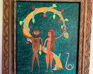 Haitian painting by Seymour Etienne Bottex