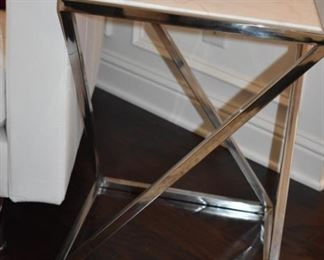 One of Art Deco Style Matching End Tables