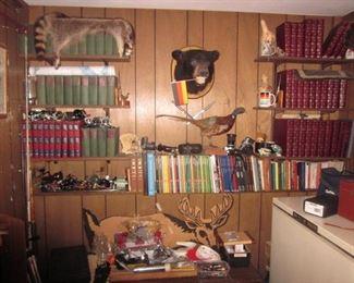 Books~Taxidermy