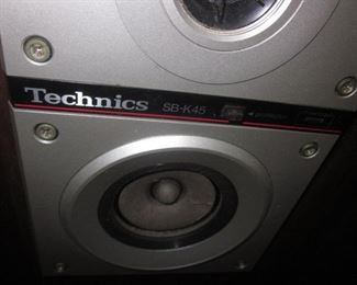 Technics SB k45 Speakers