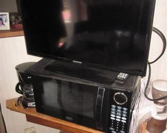 TV's and Microwave
