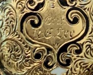 """Inscription """"Gen. R. E. Lee"""" #1"""