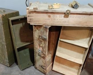 WWI and WWII trunks