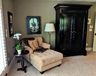 chaise lounge floor lamp art armoire table