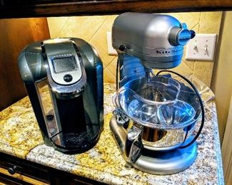 Kitchen aid mixer and Keurig