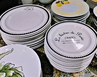 Kiss That Frog plates dishes sets dinnerware