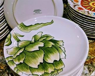 Pottery Barn plates dishes sets dinnerware