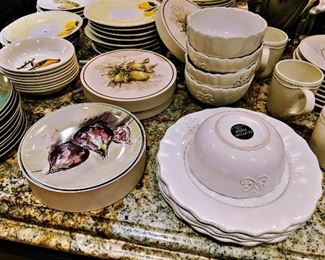 plates dishes sets dinnerware