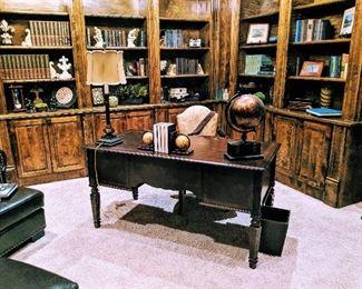 office furniture desk books