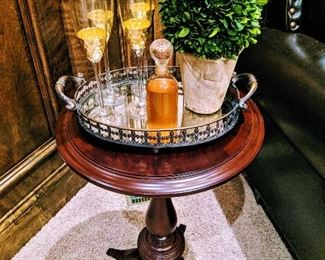 accent table serving tray misc