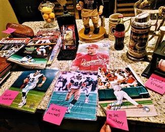 autographed signed sports memorabilia