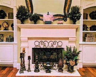 home décor floral arrangements
