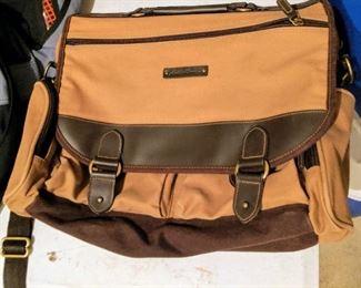 Eddie Bauer messenger bag laptop bag