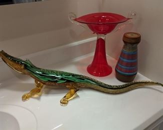 Murano Glass Alligator Rare $1500... HALF OFF TODAY ONLY!