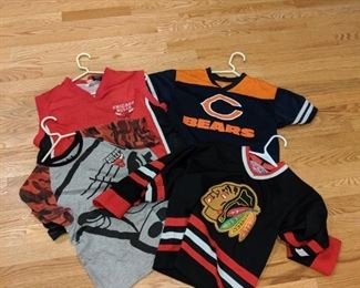 Toddlers sports shirts