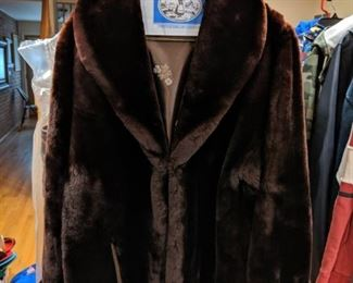 Vintage Sherling Fur Coat. 1960s mint condition.