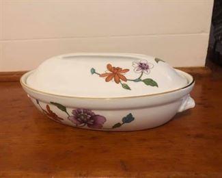 Vintage Royal Worcester Astley Porcelain Covered Dish