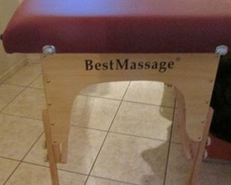 Ahhh! a wonderful upgraded massage table