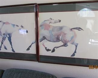Painted Ponies by Carol Griggs brought over from Portland