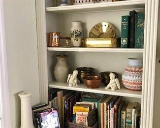 Vintage Cookbooks, Pottery & More